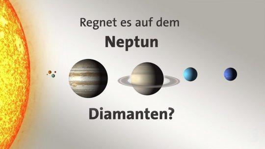 #gutzuwissen: Regnet es auf dem Neptun Diamanten?