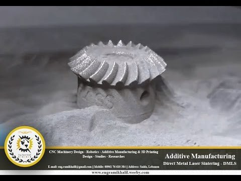 Additive Manufacturing - Direct Metal Laser Sintering DMLS Technology