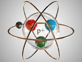 3 boyutlu hidrojen atom modeli