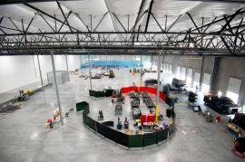 Hyperloop'un Las Vegas tesislerinden bir kare