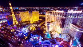 Las Vegas şehri.
