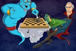 Dr. Strange Vs. Genie