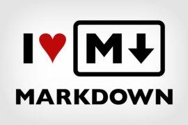 I Love Markdown, Markdown'ı Seviyorum