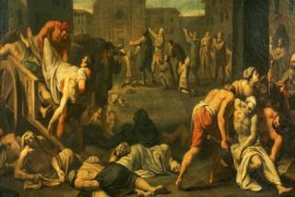 Orta Çağ Veba Salgını Tablosu - Plague