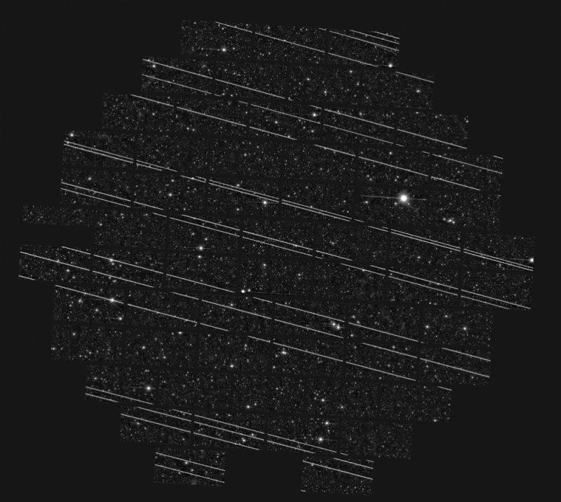 Starlink Projesi Teleskop Gözlem Çizgi Problemi