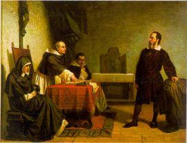 Roma engizisyonu karşısında Galileo