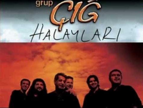 Grup Çığ - Halaylar Albüm Kapağı