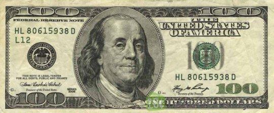 100 dolar