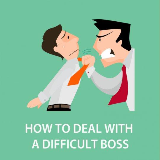 Gıcık Patronla Nasıl Başa Çıkarsın - Clipart
